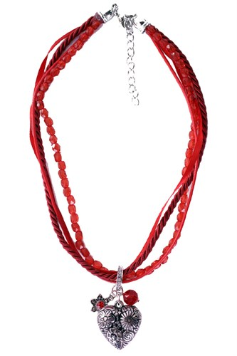 Ketting Bayern de luxe rood