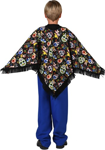 Poncho Day of the Dead