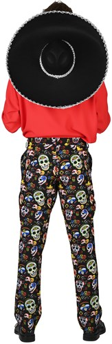 Hose Day of the Dead Slim Fit