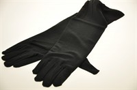 Gloves stretch black