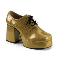 Disco shoes men gold