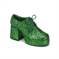 Disco shoes men green