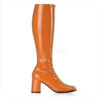Stretch boots orange