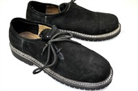 Traditional shoes Oktoberfest black