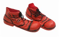 Clown shoes red, one size (L=33 cm)