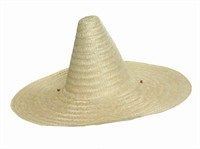 Sombrero Natural, one size (H=22 cm, W=50 cm)