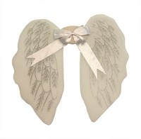 Angel wings, white (45x41 cm)