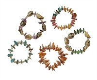 Hawaii shell bracelet, 1 pcs (L=17 cm)