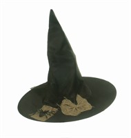 Witch hat spider/jute Halloween one size (H=38 cm)