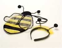 bag+hair circlet bee