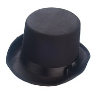 Top hat black