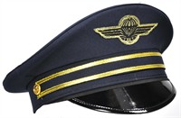 Pilot's cap luxury