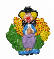 Wall decoration clown stage 56 x 51 cm