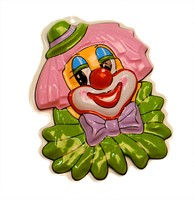 Wall decoration clown collar 28 x 22 cm