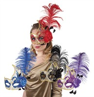 Mask purple Venice Cigno apiece