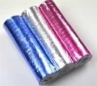Paper streamers disco 3pcs.