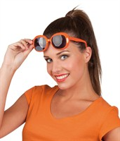 Brille orange Julie
