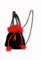 Bag devil black/red Halloween