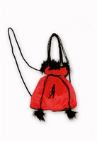 Bag devil red/black Halloween