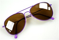 Glasses Blues Brothers neon purple