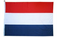 Flag Netherlands without eyelets 90x150cm