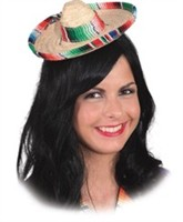 Sombrero mini multicolor
