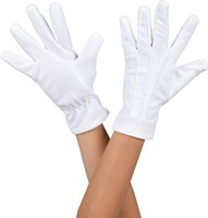 Gloves white luxury