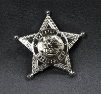Sheriff star silver