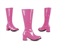 Stretch Stiefel neon pink (Kind)