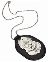 Necklace police-badge
