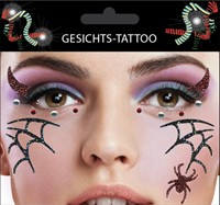 Sticker Gesicht Spinne