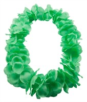 Hawaian necklace neon green