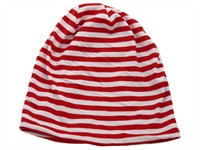 Hat red/white striped
