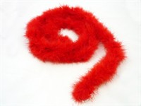 Marabou red 190cm