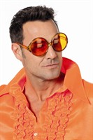 Brille orange Glamour