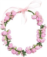 Floral wreath pink