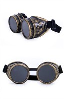 Glasses steampunk gold