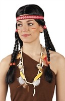 Indians chain with feathers