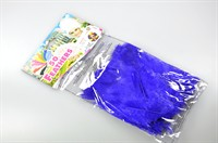 Feathers purple 10cm  bag of 50 pieces