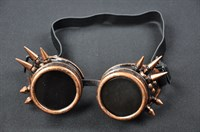 Goggles steampunk copper