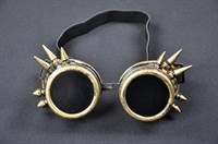 Goggles steampunk gold