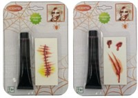 Blut 28ml+Tattoo Narbe Halloween
