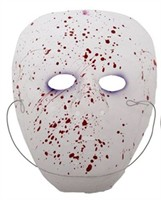 Mask white Zombie blood Halloween