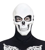 Mask white skull Halloween