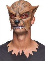 Masker weerwolf latex Halloween