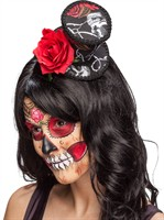 Hoge hoed mini Day of the Dead Halloween