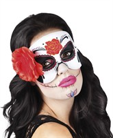 Oogmasker La Blanca Day of the Dead Halloween