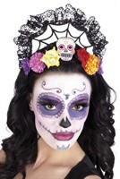 Diadeem Calavera Day of the Dead Halloween