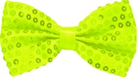 Fly sequins neon green