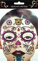 Sticker Gesicht Day of the Dead